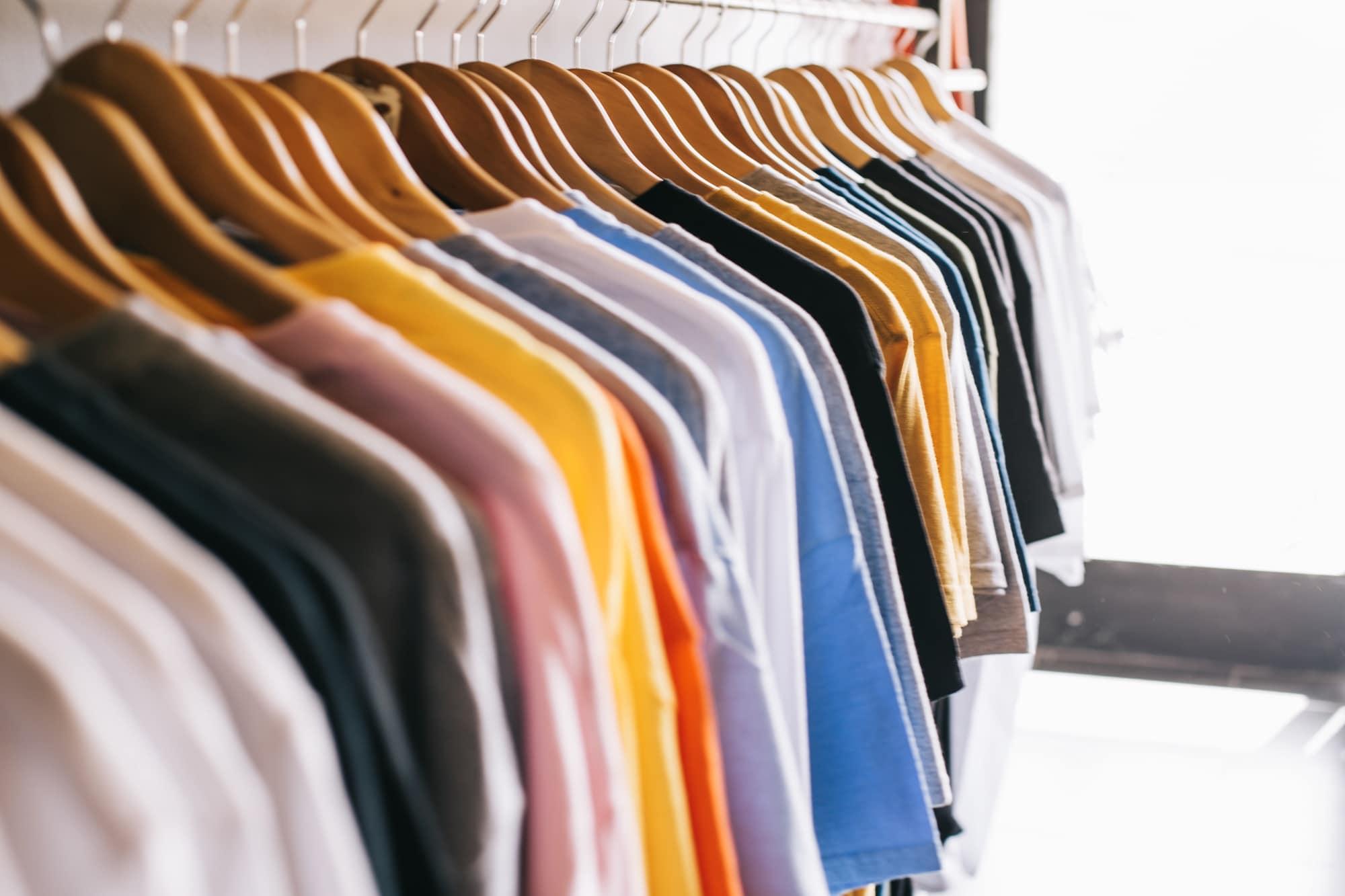 рециклиране на дрехи