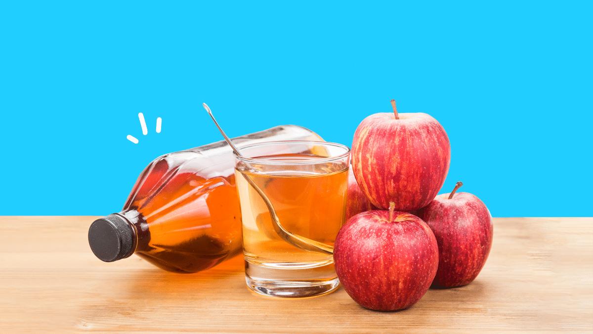 почистване с ябълков оцет